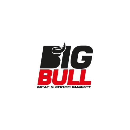 Logotipo de Big Bull Meat & Foods Market