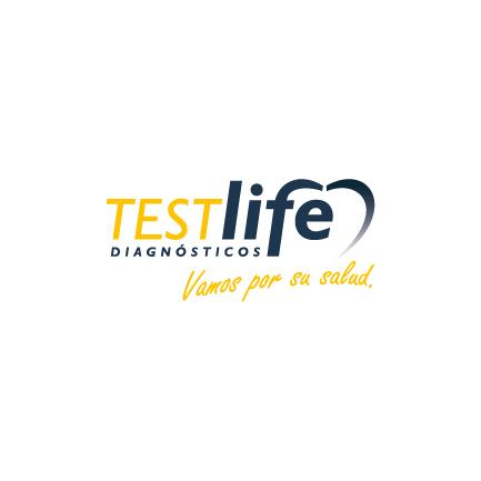 Logotipo de TESTlife