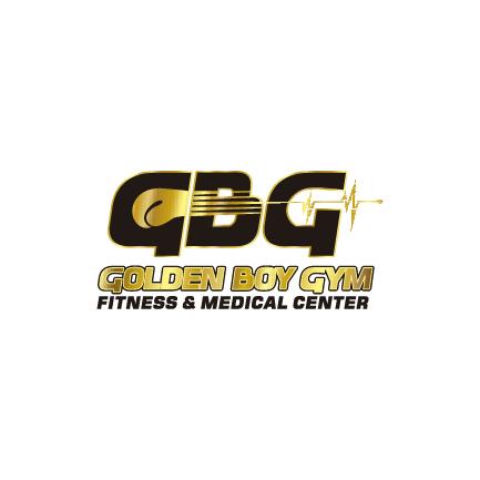 Logotipo de GBG Golden Boy GYM