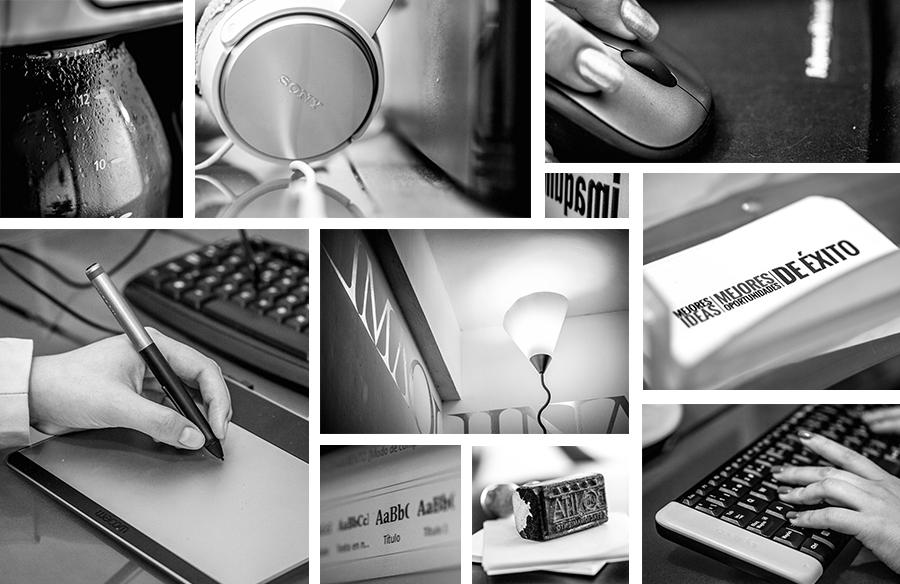 Collage Imaquina Comunicación, Agencia de Publicidad, Publicidad Creativa.