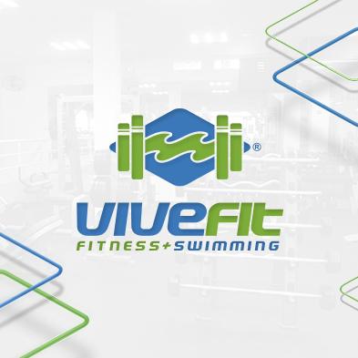 Vivefit, Logotipo Vivefit, Creación de Logotipos, Identidad Corporativa