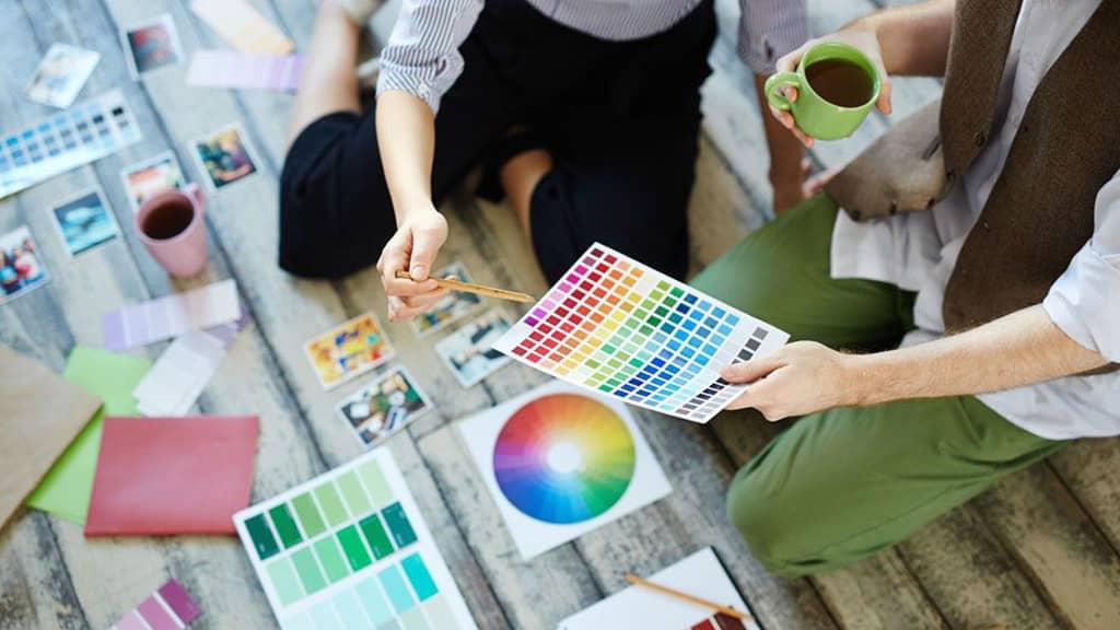 La importancias de los colores en el marketing